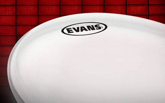 great new drumming products evans g14 tom and snare drum heads and new web site. Black Bedroom Furniture Sets. Home Design Ideas