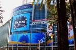 NAMM 2012 Anaheim entrance gate - outside view