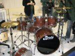 NAMM 2012 Brady drums