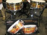 NAMM 2012 Craviotto Masters Metal snare drums