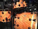 NAMM 2012 DW butterscotch orange wax wrap