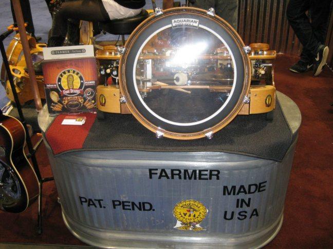 Foot Drums One Man Band : namm 2012 farmer foot drums one man band 01 ~ Vivirlamusica.com Haus und Dekorationen