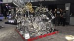 NAMM 2012 Gretsch drums double bass drum chrome kit with Gibraltar hardware (01)