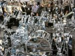 NAMM 2012 Gretsch drums double bass drum chrome kit with Gibraltar hardware 02