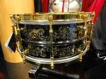 NAMM 2012 Joyful Noise drums engraved snare drum (01)