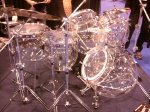 NAMM 2012 Molecules acrylic bubble drum kit (02)