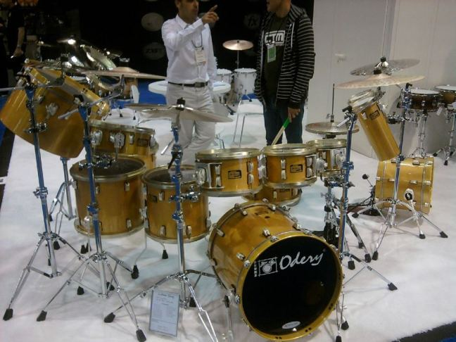 NAMM 2012 Odery drums from Brazil