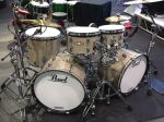 NAMM 2012 Pearl e-Pro Live Series Double Bass Drum Silver Sparkle