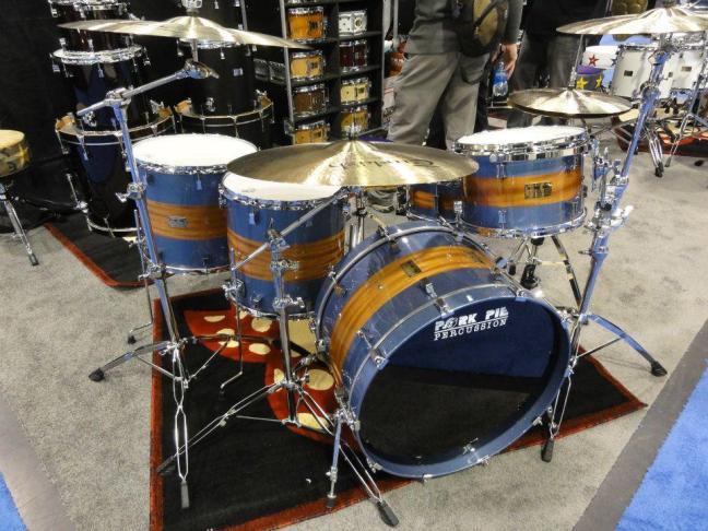 NAMM 2012 Pork Pie percussion drum kit
