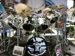 NAMM 2012 Premier Signia drums Nicko McBrain from Iron Maiden