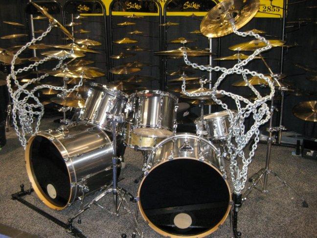 NAMM 2012 Silken cymbals