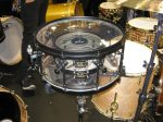 NAMM 2012 SJC acrylic Mother of drums snare drum inside shell