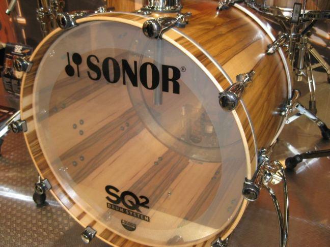 NAMM 2012 Sonor SQ2 drum kit 02