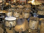NAMM 2012 TAMA bird eye maple drum kit