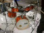 NAMM 2012 Taye hyperdrive drum kit