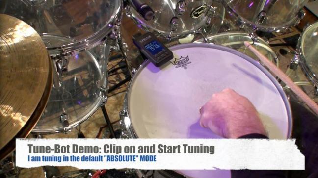 NAMM 2012 Tune Bot drum tuning device (01)