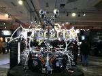 NAMM 2012 Yamaha drums hexrack II with Zildjian Gen16 cymbals (01)