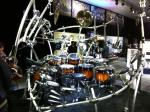 NAMM 2012 Yamaha drums hexrack II with Zildjian Gen16 cymbals (02)