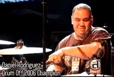 drumcool.com - Daniel Rodriguez Guitar Center Drum Off 2006 Champion